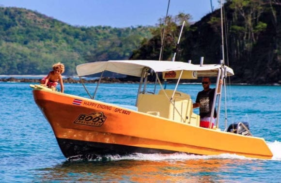 28' TYPICAL COSTA RICAN (22 ft Boat double engine)