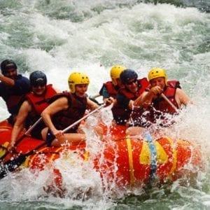 White Water Rafting (Class III & IV)