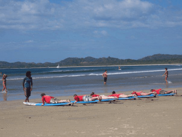 Tamarindo Group Surf Lessons