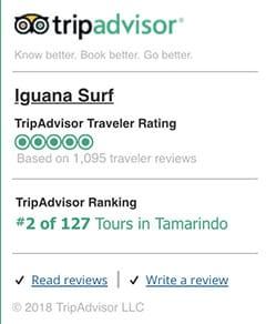 TripAdvisor | Iguana Surf
