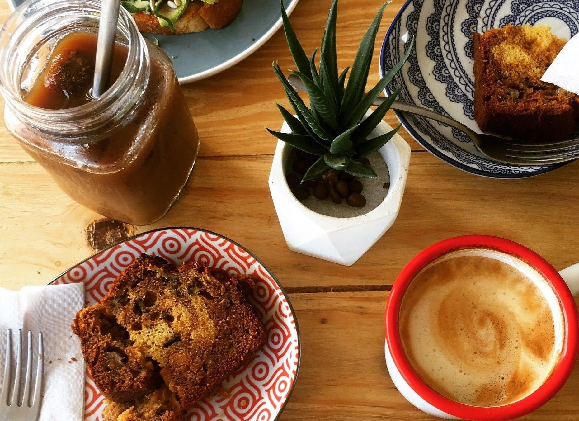 Breakfast at Santa Rita Cafe.