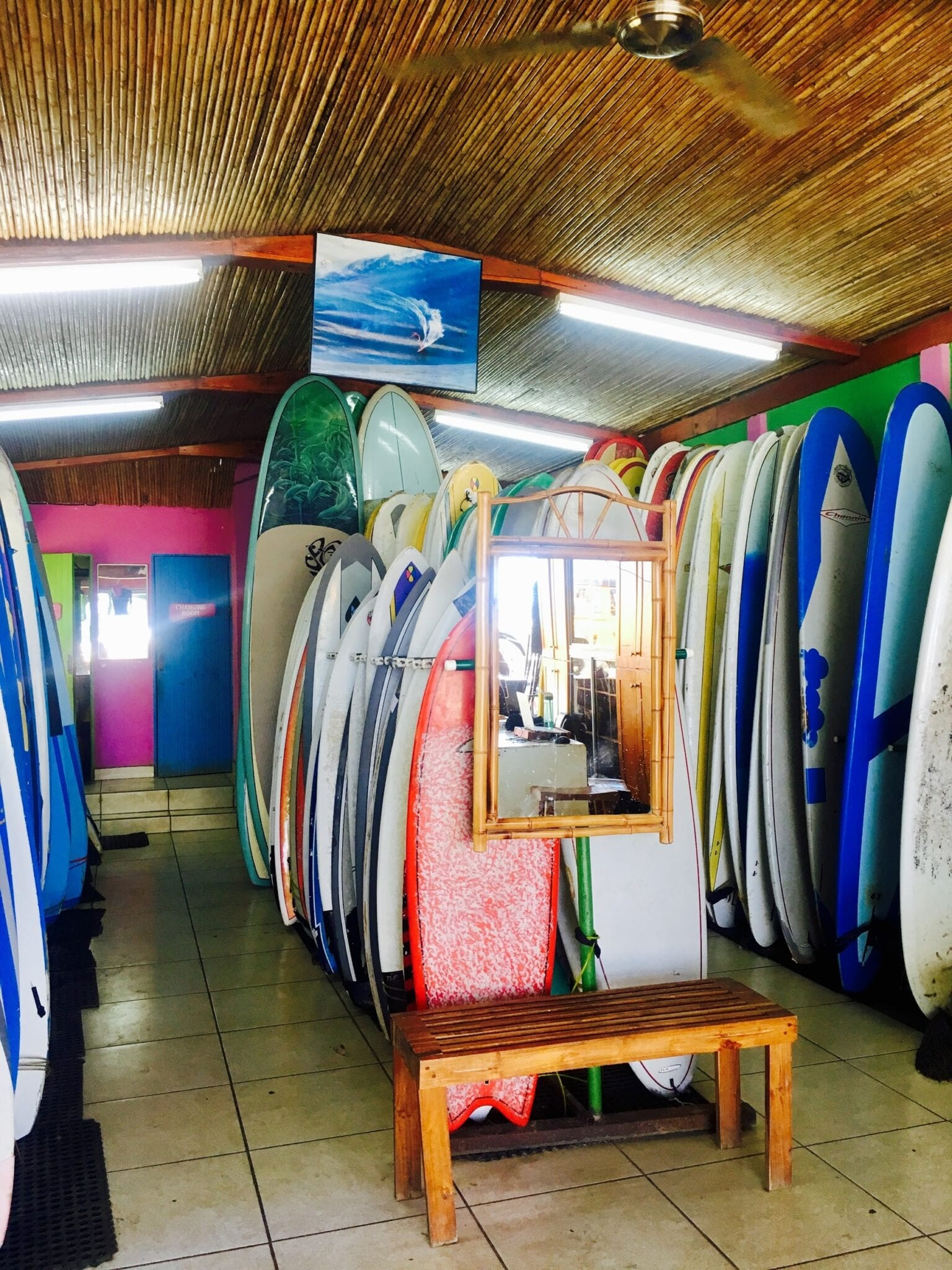 Welcome in to the Iguana Surf Shop.