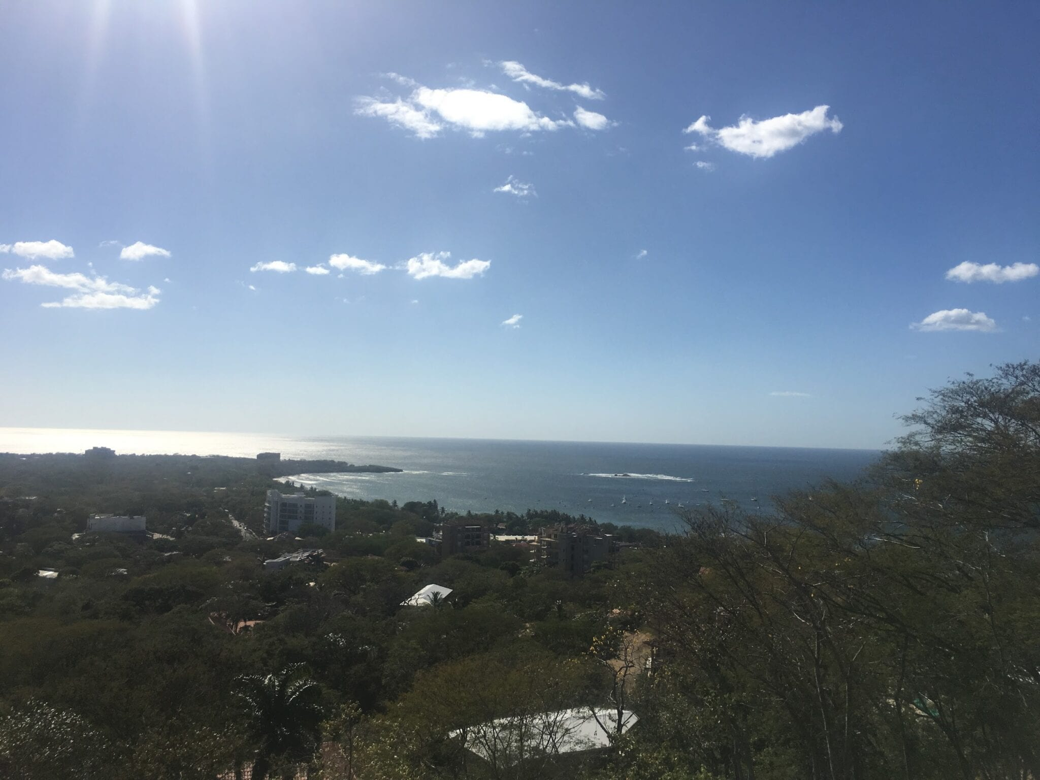 Tamarindo viewpoint.