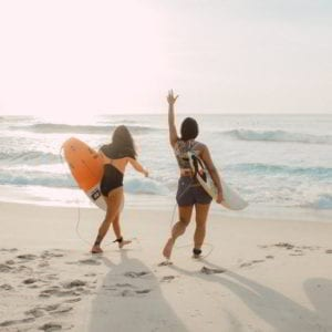 Learning to Surf In Tamarindo…  Because it is never too late…