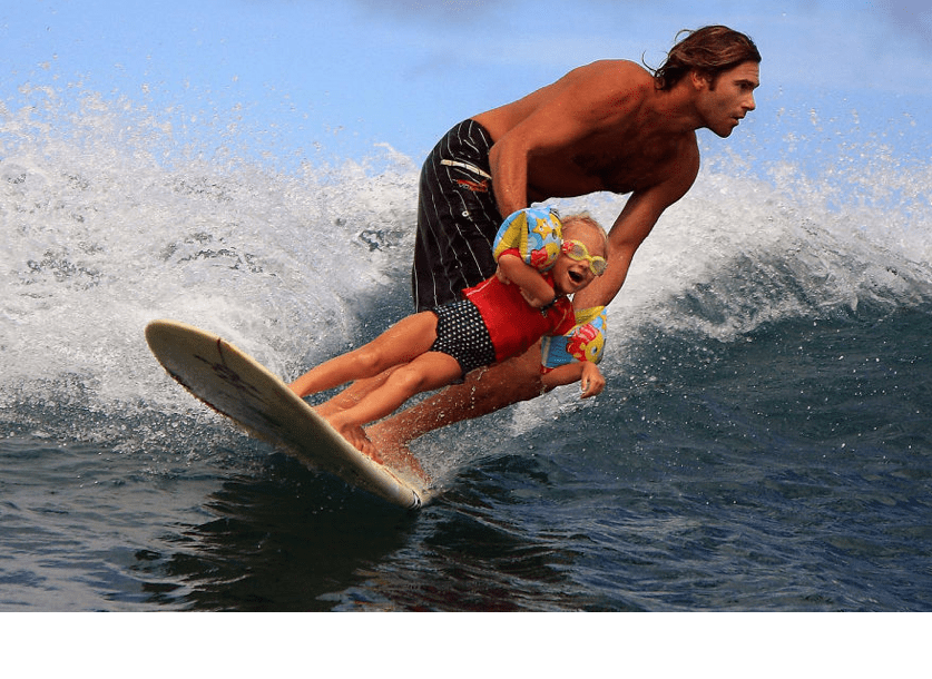 costa rica family surf lessons