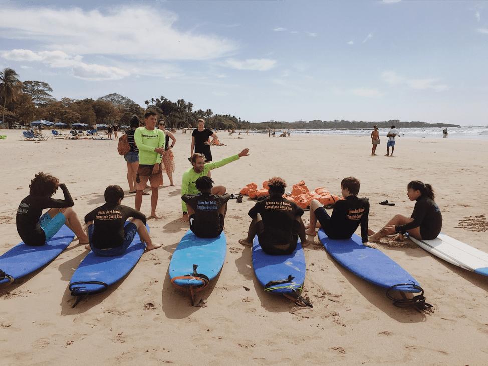 costa rica surf camp