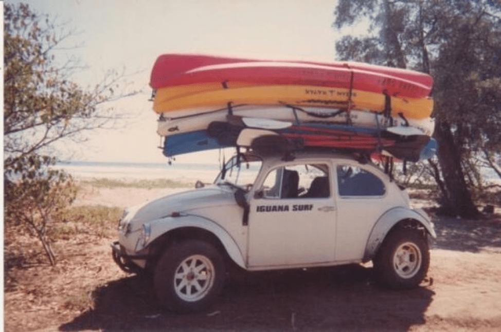 iguana surf