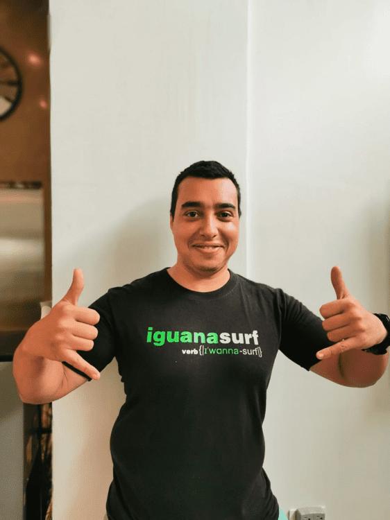 Iguana surf tamarindo