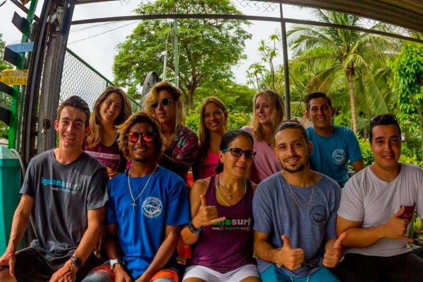 MEET THE IGUANA SURF CREW 2019