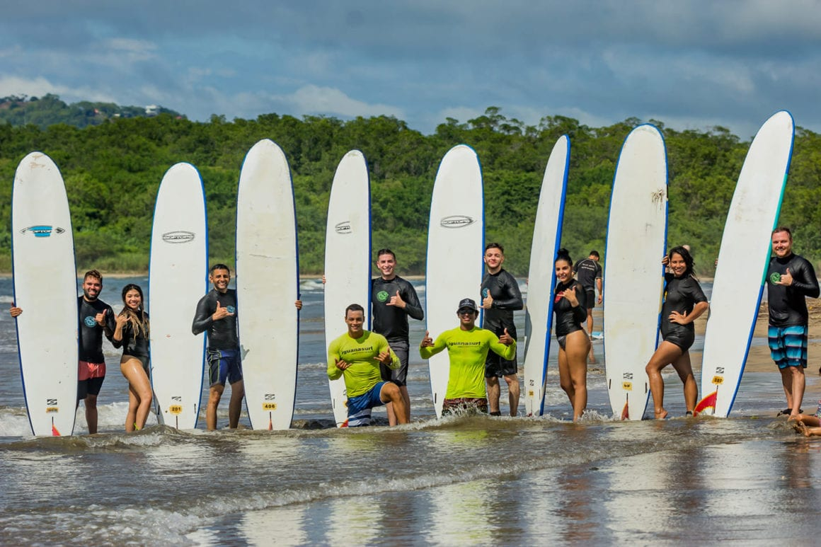 Costa Rica Surf Camps in Tamarindo are Back & Town is Thriving Once Again!