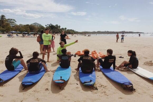 A Family Surf Camp in Costa Rica – Surf, School, Adventure & Nature