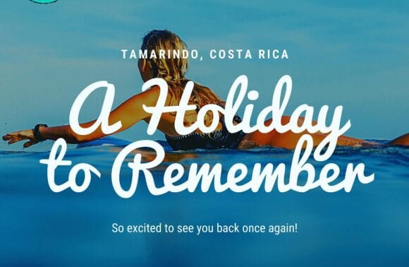 The Holidays Are Back at Tamarindo Beach!