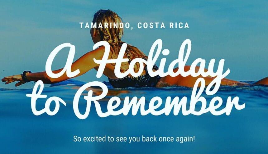The Holidays Are Back at Tamarindo Beach!